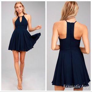💫🆕/wtag lulu's  glamorous Grace skater dress